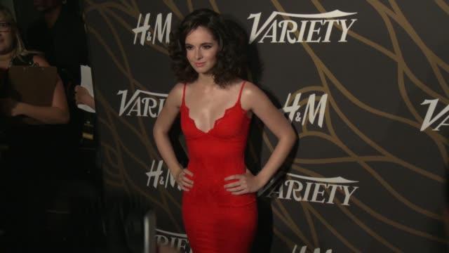 vanessa marano at variety power of young hollywood in los angeles ca - vanessa marano stock videos and b-roll footage