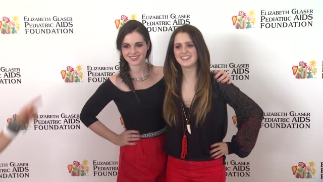 vanessa marano laura marano at elizabeth glaser pediatric aids foundation's 24th annual a time for heroes event on 6/2/13 in los angeles ca - vanessa marano stock videos and b-roll footage