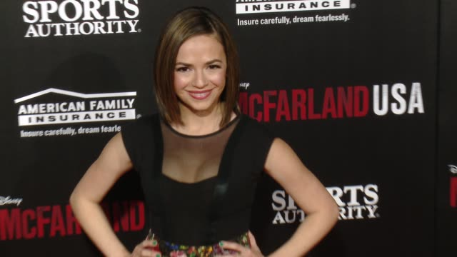 "vanessa martinez at the ""mcfarland, usa"" los angeles premiere at the el capitan theatre on february 09, 2015 in hollywood, california. - el capitan theatre stock videos & royalty-free footage"