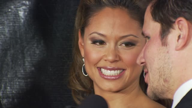 stockvideo's en b-roll-footage met vanessa minnillo, nick lachey at the nbc universal 67th annual golden globe awards after-party at beverly hills ca. - nick lachey