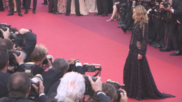Vanessa Paradis at 'Mal de Pierres' Red Carpet at Grand Theatre Lumiere on May 15 2016 in Cannes France