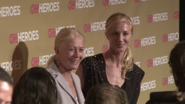 Vanessa Redgrave and Joely Richardson at the CNN Heroes An AllStar Tribute at Los Angeles CA