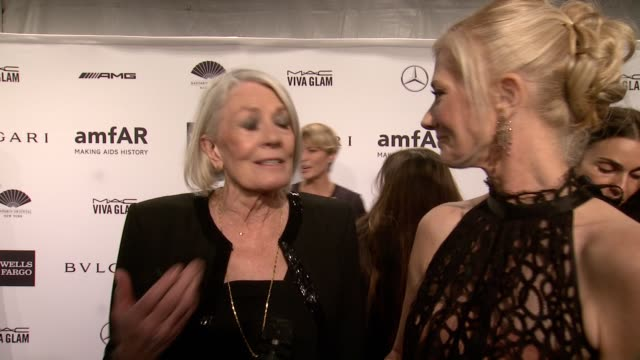INTERVIEW Vanessa Redgrave and Joely Richardson on being honored tonight being part of amfAR on the memory of their late daughter and sister Natasha...