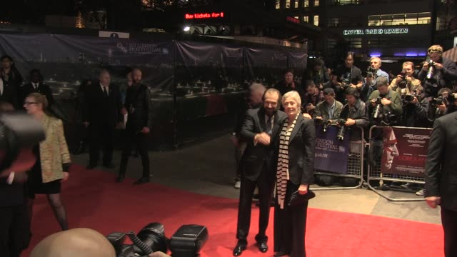 Vanessa Redgrave and Ralph Fiennes at the Coriolanus Gala Premiere 55th London Film Festival at London England