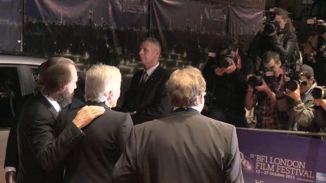 Vanessa Redgrave and Ralph Fiennes Brian Cox at the Coriolanus Gala Premiere 55th London Film Festival at London England