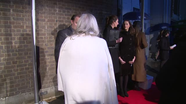 Vanessa Redgrave at The London Television Centre on February 07 2016 in London England