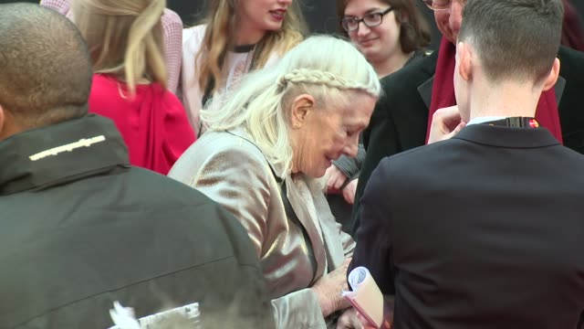 Vanessa Redgrave at The Royal Opera House on March 03 2016 in London England