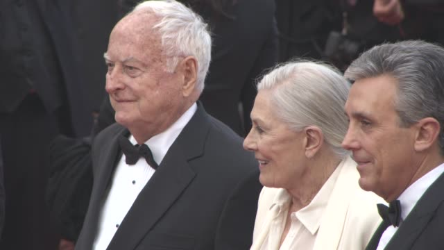 Vanessa Redgrave James Ivory at 'Howards End' Red Carpet on May 12 2016 in Cannes France