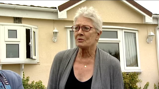 Vanessa Redgrave lends support to traveller families facing eviction Vanessa Redgrave speaking to press SOT Like to say a few words in supoort /...