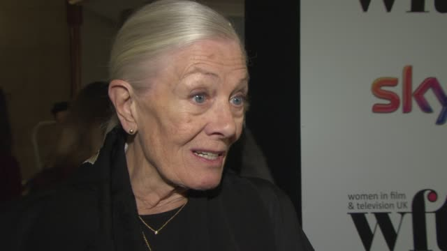 INTERVIEW Vanessa Redgrave on how women have been perceived in the industry at Sky Women in Film and TV Awards on December 05 2014 in London England