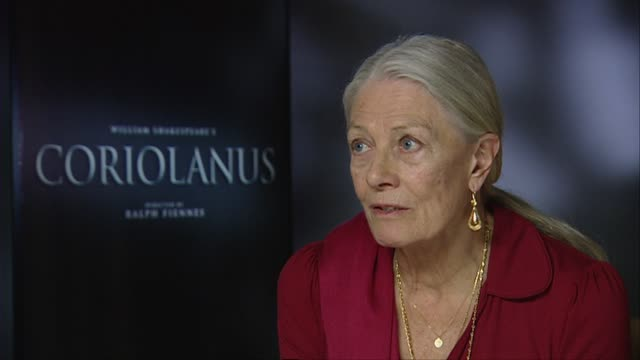 Vanessa Redgrave on learning more about theater through films than being on stage at the Coriolanus Interviews 61st Berlin International Film...