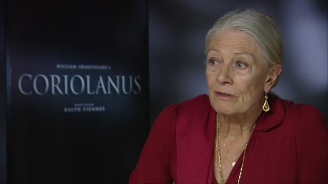 Vanessa Redgrave on the language of Shakespeare her experience as a young girl at the theater at the Coriolanus Interviews 61st Berlin International...