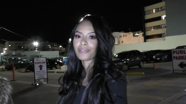 INTERVIEW Vanessa Simmons talks about boycotting HM Clothing Line outside Bardot Nightclub in Hollywood in Celebrity Sightings in Los Angeles