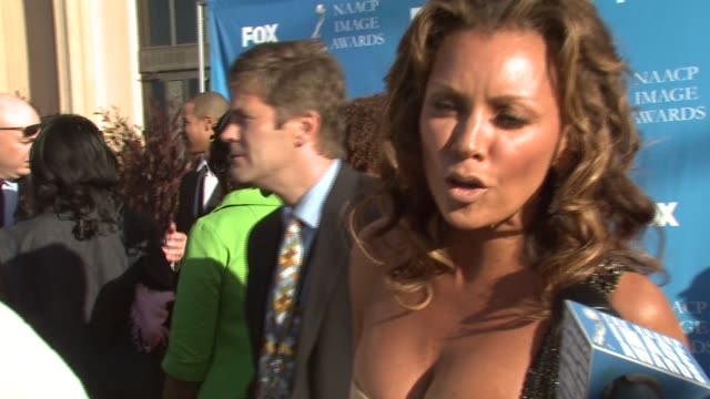 Vanessa Williams at the 39th Annual NAACP Image Awards at the Shrine Auditorium in Los Angeles California on February 14 2008