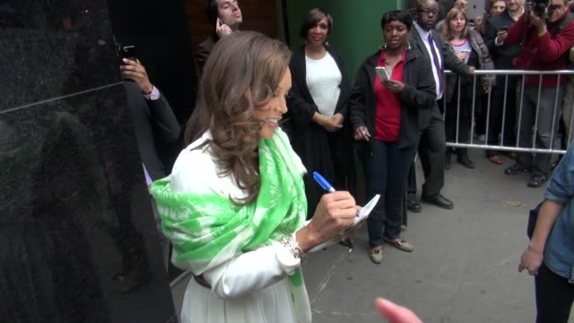 vanessa williams at the 'good morning america' studio vanessa williams at the 'good morning america' stu on april 19 2012 in new york new york - good morning america stock videos and b-roll footage