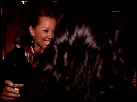 vídeos de stock, filmes e b-roll de vanessa williams at the sergio rossi store opening celebration at sergio rossi in los angeles california on january 16 2008 - inauguração de loja