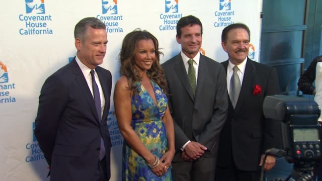 Vanessa Williams George Lozano at Covenant House California 2012 Gala And Awards Dinner at Skirball Cultural Center on June 07 2012 in Los Angeles...