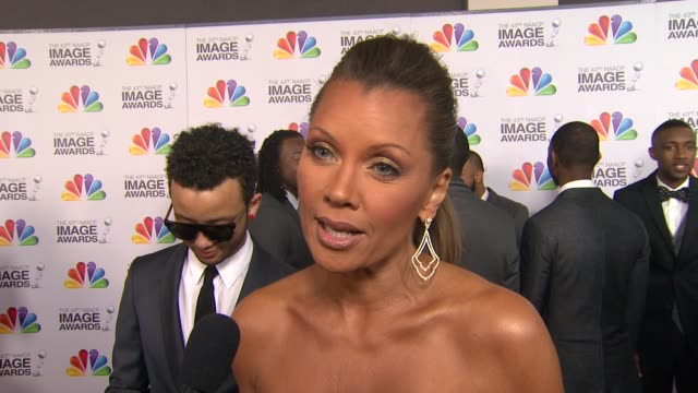 Vanessa Williams on the event at The 43rd NAACP Image Awards Arrivals on 2/17/12 in Los Angeles CA