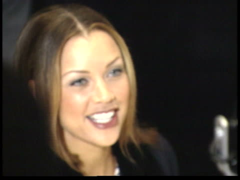 vanessa williams talks to reporters on red carpet - ted danson stock videos & royalty-free footage