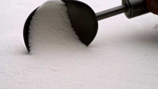 vanilla ice cream scooping - dollop stock videos and b-roll footage