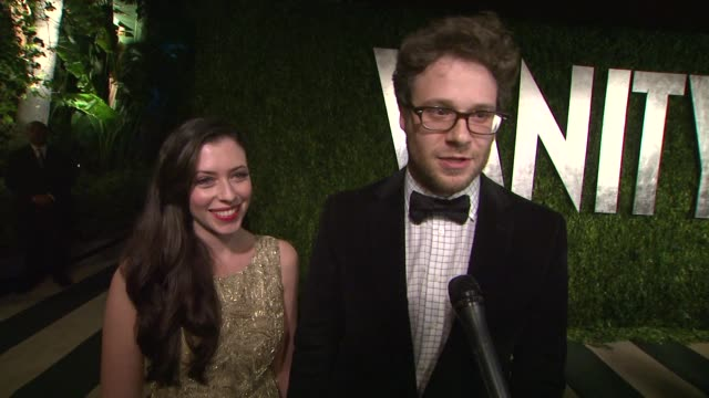 vanity fair party and his favorite memory of the party at sunset tower on february 26 2012 in west hollywood california - vanity fair stock videos and b-roll footage