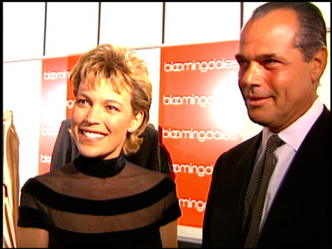 vanna white at the bloomingdale's gala opening on november 7, 1996. - gala stock videos & royalty-free footage