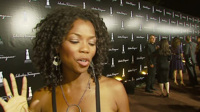 vannessa williams on ferragamo fashions at the rodeo drive 'walk of style' awards honoring salvatore ferragamo at rodeo drive in beverly hills,... - salvatore ferragamo stock videos & royalty-free footage