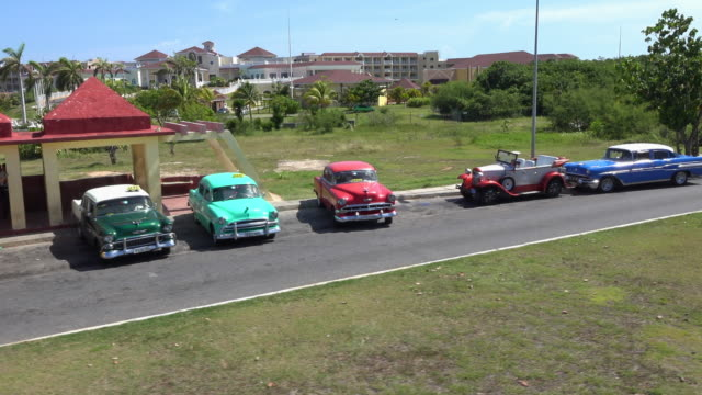 varadero, cuba: point of view from a 'hop-on, hop-off bus' - varadero stock videos and b-roll footage