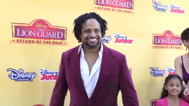 Vargus Mason at the Premiere Of Disney Channel's The Lion Guard Return Of The Roar at Walt Disney Studios in Burbank at Celebrity Sightings in...