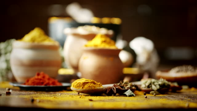Variation of Spices and Herbs