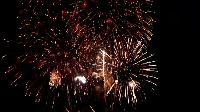 Variety of colors Mix Fireworks or firecracker.
