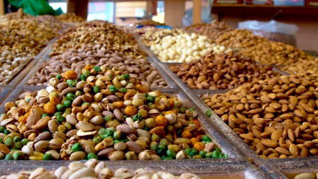 Variety of nuts in Dubai