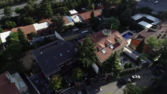 various aerial shots of the saudi consulate in istanbul, turkey on october 10, 2018. saudi journalist jamal khashoggi, a columnist for the washington... - istanbul stock videos & royalty-free footage
