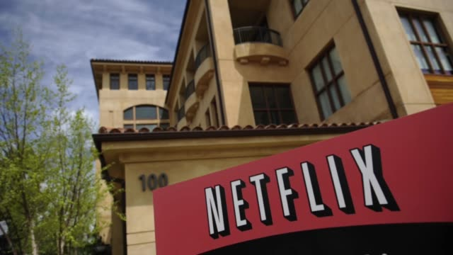 various angles and exteriors of netflix headquarters nextflix hq exteriors on april 12 2012 in los gatos california - netflix stock videos & royalty-free footage