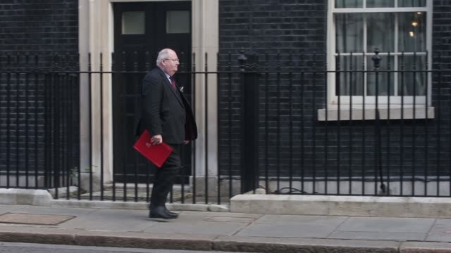 Various arrivals and departures for a pre budget cabinet meeting in London UK on Wednesday March 18 2015