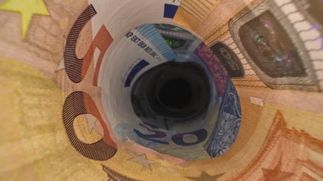 various banknotes - dollars, euro, zloty - payslip stock videos & royalty-free footage