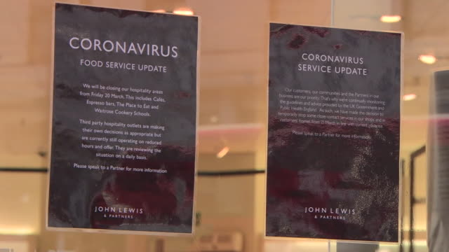 various businesses closed due to coronavirus outbreak - closing stock videos & royalty-free footage