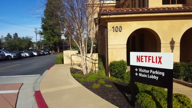 various clips of the netflix headquarters in los gatos ca the popular streaming service reported on tuesday that come the second half of 2016 many... - netflix stock videos & royalty-free footage