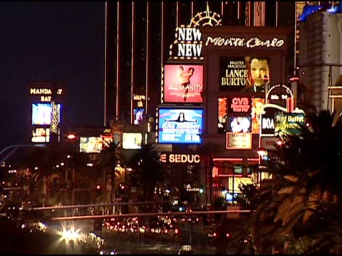 various establish scene of the strip. - bellagio hotel stock videos & royalty-free footage