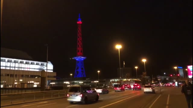 various gatherings around europe marking the moment the u.k. leaves the european union on friday, january 31, 2010. - communications tower stock videos & royalty-free footage