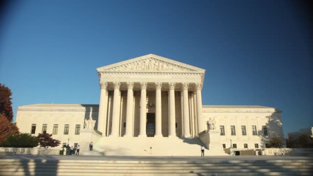 various general views and angles of us supreme court us supreme court generic on november 07 2011 in washington dc - oberstes bundesgericht der usa stock-videos und b-roll-filmmaterial