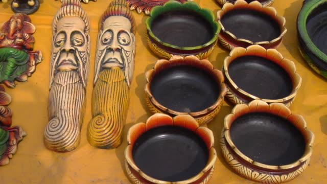 CU PAN Various idols for sale at Surajkund Fair / Faridabad, Haryana, India
