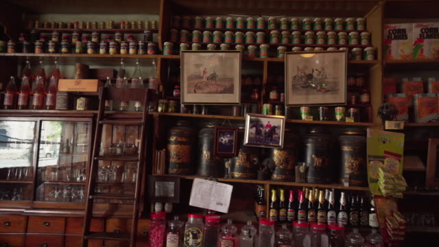 Various items on wall of pub - Ireland