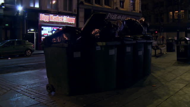 various outdoor bins in newcastle - dustbin stock videos & royalty-free footage