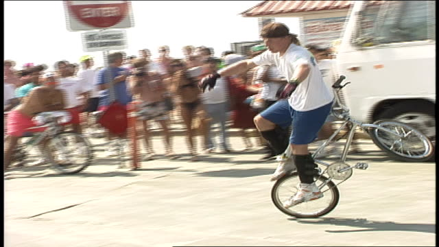 various people doing flatland bmx tricks in oceanside california - oceanside stock videos and b-roll footage