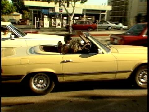 Various People in their Cars in Los Angeles