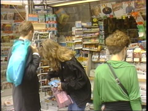 various people on paris streets - 1988 stock videos & royalty-free footage