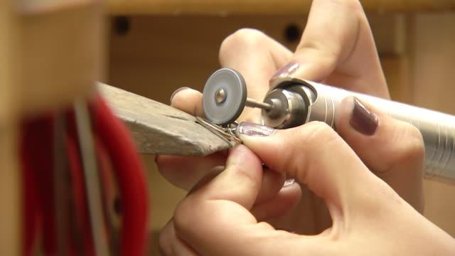 vídeos y material grabado en eventos de stock de varias tomas de anillo - anillo joya