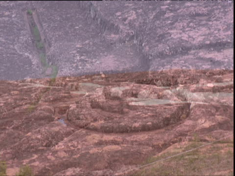 stockvideo's en b-roll-footage met various rock carvings of samaipata archaeological site bolivia - bolivia
