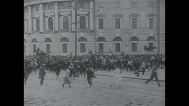 various scenes from the russian revolution, from march 8-november 7, 1917. - russian culture stock videos & royalty-free footage